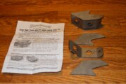 Weld on Rear Lower Control Arm Reinforcement Support Braces