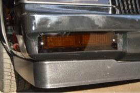 Fiberglass Bumper Lights Bezel Fix & New Parking Light Covers