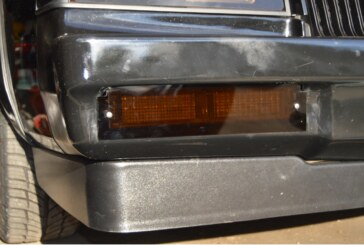 Fiberglass Bumper Lights Bezel Fix & New Parking Light Covers