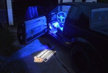 Buick Grand National Door Ghost Lights