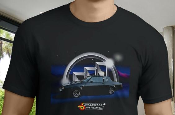 Buick Grand National Black T-Shirts