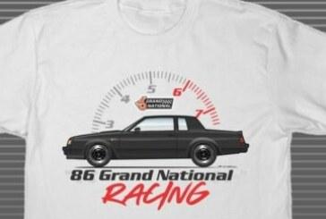 White Buick GN Shirts