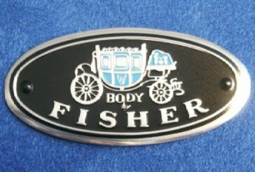 BOC Powertrain Group Fisher Body Emblems Decals