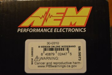 Installing an AEM X-series Wideband O2 Sensor in a Buick Grand National