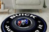 Buick Motif Carpet Rugs Tile