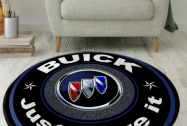 Buick Motif Carpet Rugs Tile