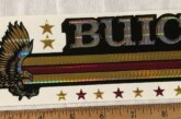 Vintage Buick Stickers