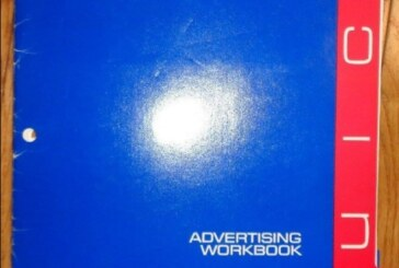 1986 Buick Motorsports Advertising Workbook