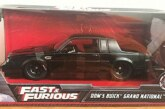 Jada Fast and Furious Dom's Buick Grand National 1:24 Scale – 2020 & 2018 Versions