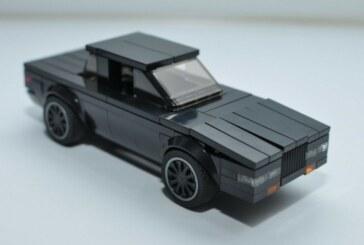 Custom LEGO Buick Grand National GNX