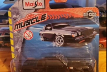 Maisto Muscle 1987 Buick Grand National Fresh Metal 1:64