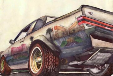 1986 & 1987 Buick Grand National & GNX Drawings & Posters
