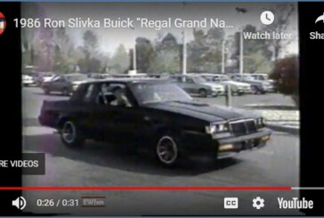 Funny Buick Dealer TV Commercial with Grand National!