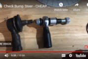 How To Adjust a Steering Bump Steer Kit DIY