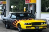Flamed 1986 Buick Grand National