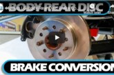 G-body Rear Disc Brakes (how to videos)