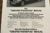 1982 Buick Grand National Announcement and Dealer Order Form Kit