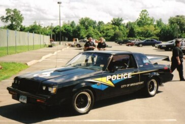 Buick Grand National Police Cars