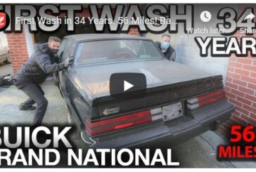 Incredible Find! 1987 Buick Grand National With 56 Miles!