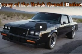 A Bit of Buick Grand National History & Details (video)