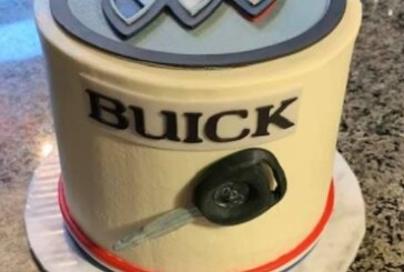 Sweet Buick Themed Birthday Cakes