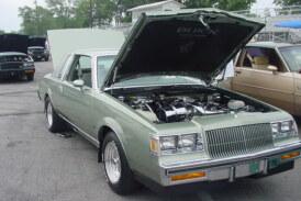 Rare Sage Green Paint 1987 Buick Regal