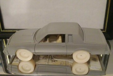 Rare 1:24 Scale Johnny Lightning Mockup (RC2 Casting)