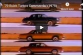 1979 Turbo Buick Regal TV Commercials