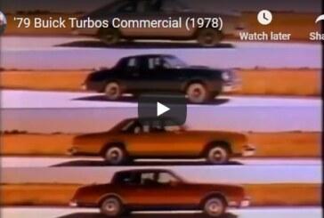 1979 Turbo Buick Regal TV Commercials