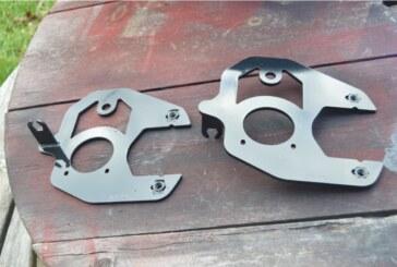 Paint Brackets Calipers on Rear Disc Brake Setup (Conversion Part 2)