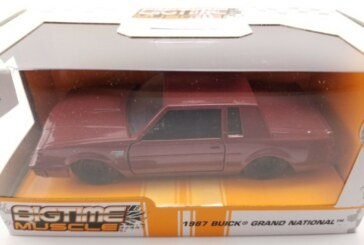 Jada Bigtime Muscle 1:32 Scale Maroon 1987 Buick Grand National