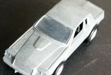 Buick Grand National Johnny Lightning Raw Pre-Production Prototype