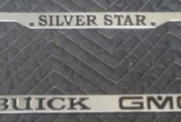 Buick Automobile Dealer & Other License Plate Frames