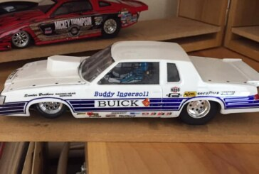 Custom Made Buddy Ingersoll Buick Regal Slot Car