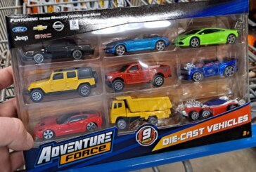 Maisto Adventure Force Die-cast Vehicle 9-pack With Buick GN