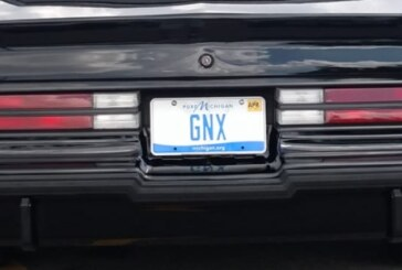 Personal Buick GNX Vanity License Plates