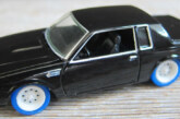 1:64 JL F&F Buick Grand National Lightning Strike Prototype Diecast Car