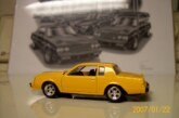Johnny Lightning Orange Buick Grand National Test Shot Die Cast Car