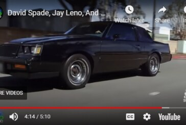 Jay Leno Cruises With David Spade in His 1987 Buick Grand National