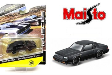 2021 Maisto Design Muscle Buick Grand National 1:64