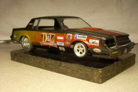Custom Created 1:24 Scale Buick GN Inspired Slot Cars