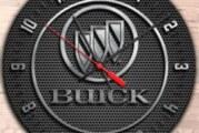 Neat Buick Logo Wall Clocks