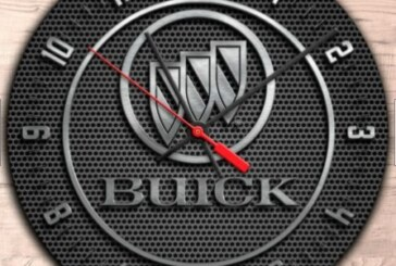 Neat Buick Logo Wall Clocks