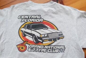 CFGNT Florida Buick Club Shirts