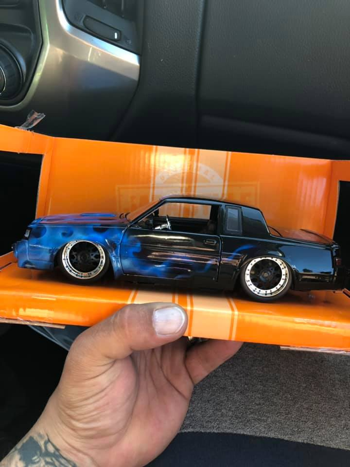 las vegas toy con 2019 buick grand national