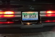 Personalized Buick Vanity Plates