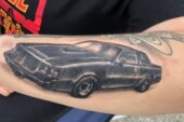 Full Car Buick Grand National Tattoos!