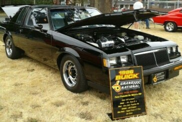 Informative Car Show Display Signs
