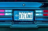 1987 Buick Grand National Vanity License Plates