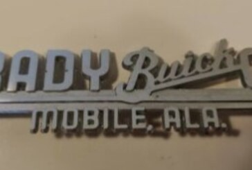 Metal Auto Emblems From Buick Car Dealerships
